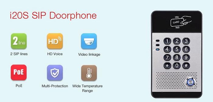 SIP i20S Door Phone