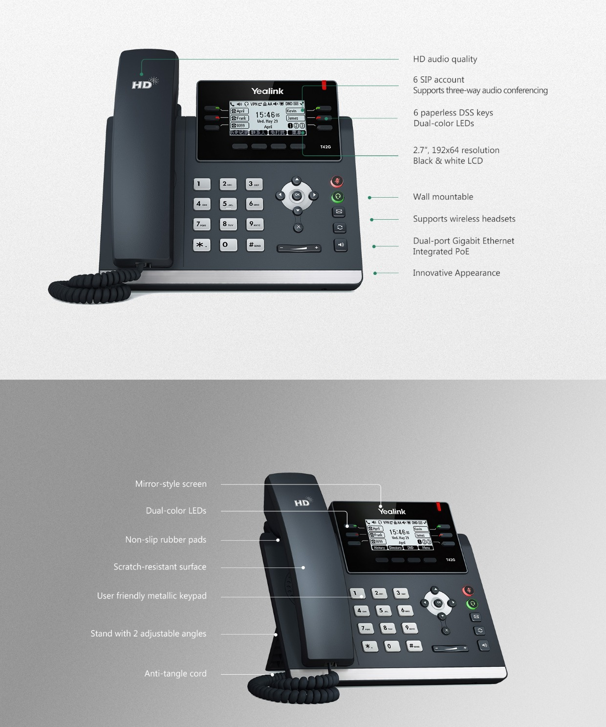 Yealink_SIP-T42S_Ultra-elegant_Gigabit_IP_Phone