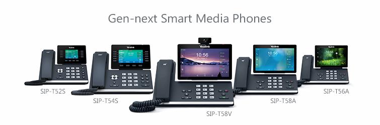 Yealink SIP-T56A Smart Media IP Phone