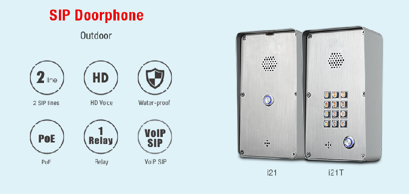 Sip Audio Door Phone Entry Access